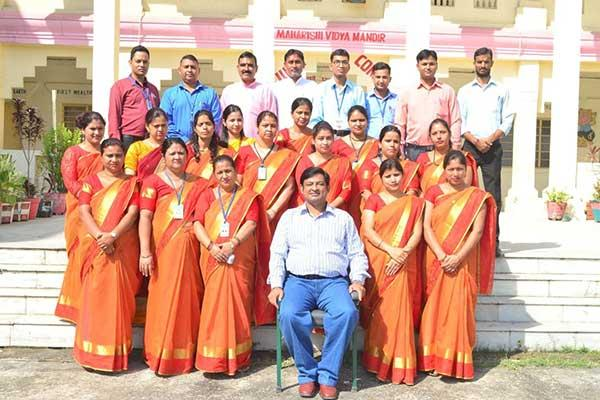 MVM School Kotdwar Principal And Teachers.