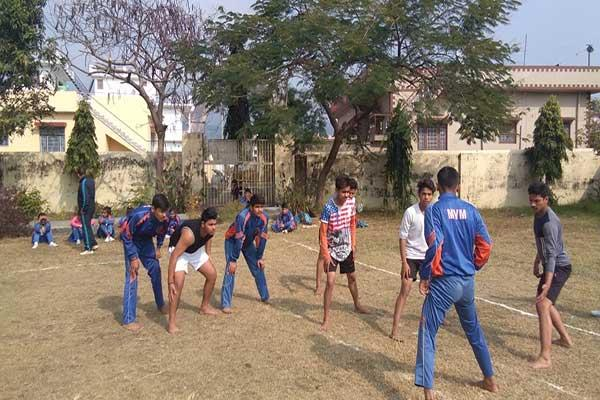 MVM Student participated in sports competition.