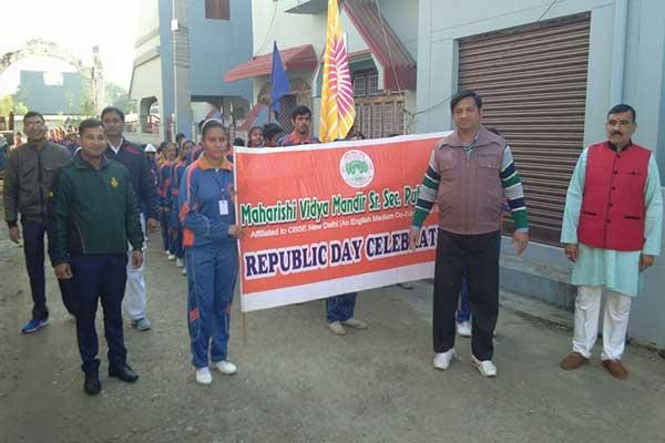 MVM Kotdwar Celebrated Republic day.